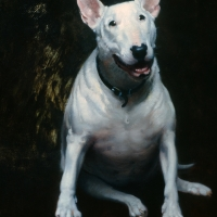 "Sookie 1986 12 x 8"" oil on linen"