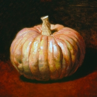 Oil Sketch, pumkin 2