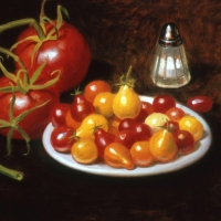 Oil Sketch, tomatoes