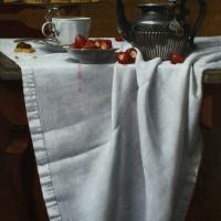 Afternoon Tea 1982 24 x 18 oil on linen